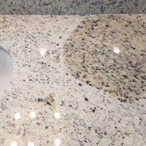 Bathroom granite sealing